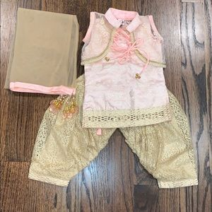 4 piece Indian outfit for baby girl